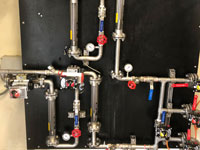 Ozone generator flow control boards